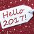 白 · クリスマス · 言葉 · ハロー · 2016 · 雪 - ストックフォト © nelosa