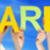 sok · emberek · kezek · tart · színes · szó - stock fotó © nelosa