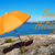 costa · laranja · guarda-sol · arquipélago · fechar - foto stock © nelosa