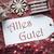 ностальгический · Рождества · украшение · Label · день · подобно - Сток-фото © nelosa