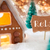 gingerbread house bronze background text relax stock photo © nelosa