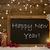 christmas card blackboard snowflakes candle happy new year stock photo © nelosa