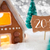 gingerbread house silver background text 2017 stock photo © nelosa