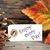 autumn label with enjoy every day stock photo © nelosa