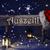 natal · assinar · luz · de · velas · seis · obrigado - foto stock © nelosa