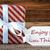 vermelho · cartão · citar · desfrutar · pequeno · coisas - foto stock © nelosa