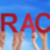 hands hold red straight word interaction blue sky stock photo © nelosa