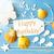 sunny summer greeting card with text happy birthday stock photo © nelosa