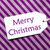 label on purple wrapping paper text merry christmas stock photo © nelosa