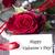 rosas · vermelhas · branco · etiqueta · feliz · dia · dos · namorados - foto stock © Nelosa