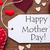 one label red hearts happy mothers day macro stock photo © nelosa