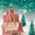 prezenty · śniegu · wesoły · christmas · przedstawia · dekoracje - zdjęcia stock © nelosa