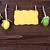 huevos · de · Pascua · etiqueta · azul · mesa · de · madera · superior · vista - foto stock © nelosa
