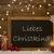 christmas card blackboard snowflakes christkind mean santa stock photo © nelosa