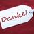 etiqueta · vermelho · papel · de · embrulho · obrigado · um · marrom - foto stock © nelosa