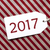 label on red wrapping paper text 2017 stock photo © nelosa