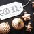 bronze tree balls god jul means merry christmas stock photo © nelosa