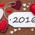 новых · лет · 2015 · красный · цвета · счастливым - Сток-фото © nelosa