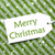 label on green wrapping paper with snowflakes text merry christmas stock photo © nelosa