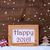 Frame With Christmas Decoration, Snow, Happy 2016, Snowflakes stock photo © Nelosa