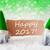 green natural gnomes with card text happy 2017 stock photo © nelosa