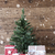 christmas tree with gifts vertical image and snowflakes stock photo © nelosa