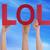 lol · abbreviazione · ridere · fuori · forte · divertente - foto d'archivio © nelosa