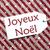 label on red paper snowflakes joyeux noel means merry christmas stock photo © nelosa