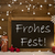 card blackboard snowflakes frohes fest mean merry christmas stock photo © nelosa