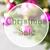 rosa · quarzo · albero · albero · di · natale - foto d'archivio © nelosa