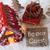 nostálgico · natal · decoração · etiqueta · bem-vindo · como - foto stock © nelosa
