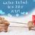 reindeer light blue background guten rutsch 2017 means new year stock photo © nelosa