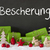 christmas decoration cement snow bescherung means gift giving stock photo © nelosa