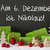 christmas decoration cement snow nikolaus means st nicholas day stock photo © nelosa