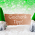 green natural gnomes with card geschenk tipp means gift tip stock photo © nelosa