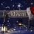 знак · искусственное · освещение · Hat · приход · Рождества - Сток-фото © nelosa