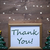 picture frame with christmas tree and text thank you snowflake stock photo © nelosa