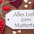 one label red hearts muttertag means mothers day macro stock photo © nelosa