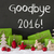 christmas decoration cement snow text goodbye 2016 stock photo © nelosa