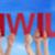 pessoas · em · linha · reta · palavra · adeus · azul - foto stock © nelosa