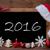 brown blackboard santa hat christmas decoration text 2016 stock photo © nelosa