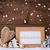 Golden Christmas Decoration, Snow, Welcome, Snowflakes stock photo © Nelosa