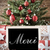 nostalgic christmas tree with merci means thank you stock photo © nelosa