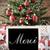 nostálgico · árvore · de · natal · obrigado · flocos · de · neve · temporadas - foto stock © nelosa