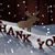 christmas card with moose hat and snow thank you snowflakes stock photo © nelosa