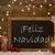 card blackboard snowflakes feliz navidad mean merry christmas stock photo © nelosa