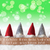gnomes green background bokeh stars neues jahr means new year stock photo © nelosa