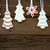 icing · christmas · cookies · glimlachende · vrouw · home · vrouw - stockfoto © nelosa