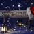 Рождества · знак · искусственное · освещение · Hat · счастливым - Сток-фото © nelosa