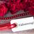 fundo · rosas · branco · etiqueta · flores - foto stock © Nelosa